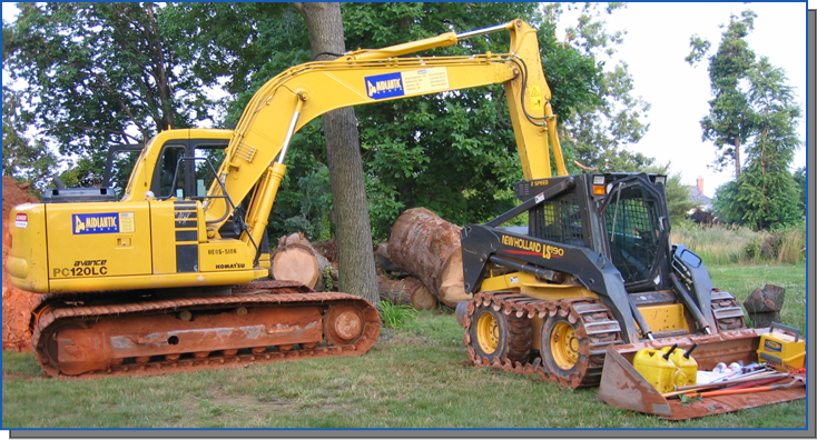 Excavating Equipment in Baltimore, MD - Unlimited Excavating, Inc.